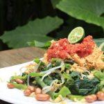 Pelecing Kangkung Opak-Opak Kuliner Khas Lombok Utara