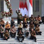 Inilah Nama Menteri Kabinet Indonesia Maju, Termasuk Prabowo Di Didalamnya